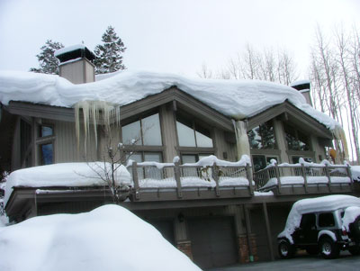 WarmQuest heated roof systems can prevent ice dams